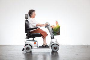 Elektrofahrzeug für Senioren für Fahren ohne Führerschein