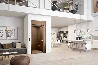 Bekannt Homelift - Der Aufzug ohne Unterfahrt und ohne Überfahrt | Meico LI51