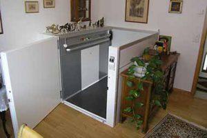 Kosten für Homelift ohne Schacht innen bei Privathaus