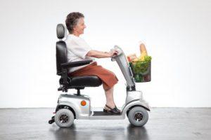 Elektrofahrzeug für Senioren für kurze Strecken