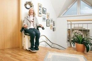 Treppenlift Schweiz innen und aussen