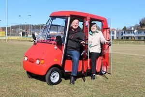 Seniorenmobil Zweisitzer