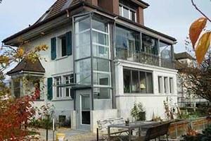 Aussenlift Schweiz Anbau nachträglich bei Einfamilienhaus
