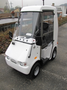 Elektromobil GC solo für Senioren, in weisser Ausführung, Farbe kann beim Kauf ausgewählt werden