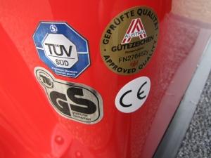 Das Elektromobil GC solo ist ein sicheres Qualitätsfahrzeug mit Gütesiegeln von unabhängigen Prüfstellen