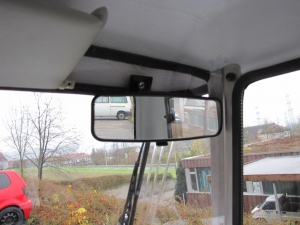 Seniorenmobil GC solo: der Innenspiegel sorgt für den Durchblick nach hinten