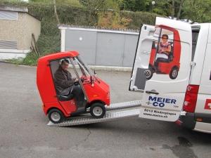Wenn Sie bei uns ein Elektromobile für Senioren kaufen, ist die Lieferung im Preis inbegriffen