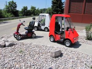 Meicomobile - zulassungsbefreite Seniorenmobile, die in der Schweiz ohne Führerschein gefahren werden dürfen, bis 10 km/h
