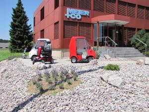 Meicomobile - zulassungsfreie Elektromobile für Senioren, in der Schweiz bis 10 km/h ohne Führerschein fahrbar