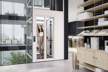 Kabinenaufzug Kalea C1 Futura in Bürogebäude