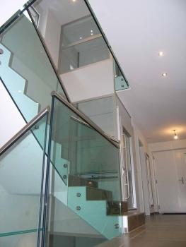 Einfache Integration des Homeliftes im Grundriss des Treppenhauses