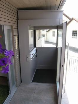 Da keine Überfahrt benötigt wird, wurde keine Dachanpassung notwendig